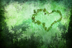 Green love Stock Photos