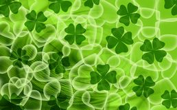 Green love background stock image