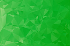 Green low poly background royalty free stock image