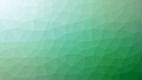 Green low poly background. Royalty Free Stock Image