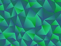 Green low polygon background. Abstract green low polygon background Royalty Free Stock Photography