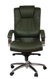 Green luxury office armchair Royalty Free Stock Photography