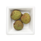 Green lychee Stock Image
