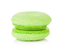 Green macaron Royalty Free Stock Images
