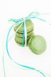 Green macaroon Royalty Free Stock Photos