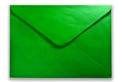 Green mail Royalty Free Stock Photos