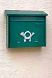 Green mailbox Royalty Free Stock Photography