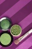 Green makeup Royalty Free Stock Photo