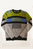 Green male sweater Stock Image