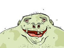 Green man Royalty Free Stock Image