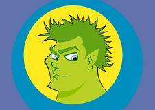 Green man Royalty Free Stock Photo