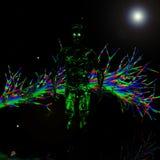 Green man alien Stock Image