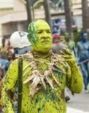 Green Man Smoking Stock Images