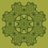 Green mandala Stock Photo