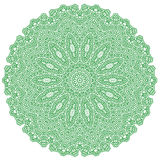 Green Mandala  Stock Photography