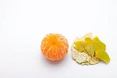 Free Green Mandarin Orange With Orange Peel Royalty Free Stock Photos - 93866848