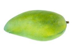 Green mango fruit isolated on white background Stock Image