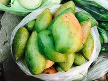 Green mango Royalty Free Stock Images