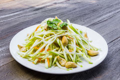 Green mango salad Stock Photos