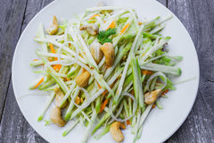 Green mango salad Royalty Free Stock Photography