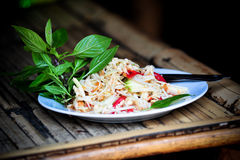 Green Mango salad Royalty Free Stock Photography