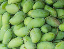 Green mango Stock Photo
