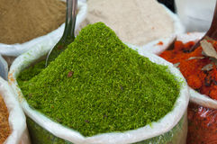 Green mango spice Royalty Free Stock Images