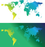 Green maps Royalty Free Stock Photos