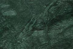 Dark Green Marble Close up with veins stock images