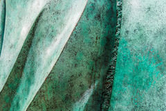 Green marble like background texture stock images