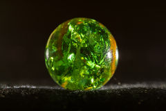 Green Marble 8. Green and Orange Marble texture background royalty free stock image