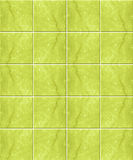 Green marble tile pattern Royalty Free Stock Photography