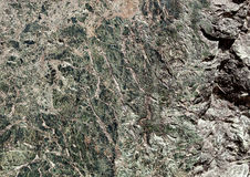 Green marble tile texture background with cracks Royalty Free Stock Images