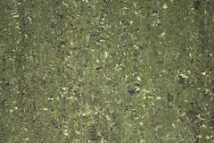 Green marble with white and black spots. natural rough surface texture. A green marble with white and black spots. natural rough surface texture royalty free stock images