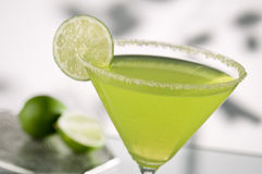 Green margarita Stock Images