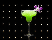 Green margarita cocktail Stock Photo