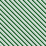 Green Marijuana Leaf and Stripes Pattern Repeat Background Stock Images