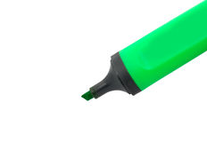 Green marker Royalty Free Stock Photos