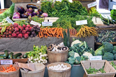 Green market Stock Photos
