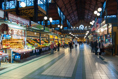 Green Market in Budapest Stock Image