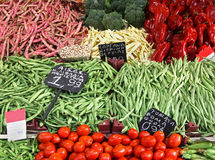 Green market Royalty Free Stock Image