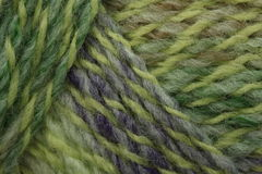 Green marl yarn Royalty Free Stock Images