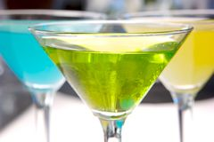 Green Martini Stock Image
