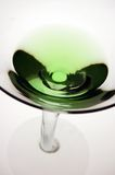 Green Martini TOP. A green appletini or cocktail Royalty Free Stock Image