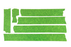Green Masking Tape royalty free stock photos