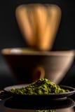 Green matcha tea Royalty Free Stock Photos