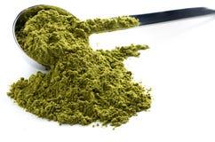 Green matcha tea Royalty Free Stock Photo