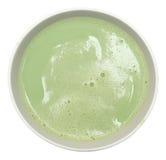 Green Matcha Tea Latte Stock Image