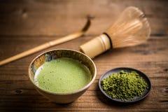Green matcha tea Royalty Free Stock Image