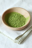 Green matcha tea Royalty Free Stock Photo
